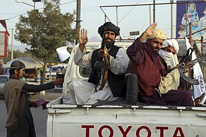The Taliban Is Celebrating Its Takeover Now That The U.S. Withdrawal Is Complete