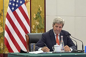 U.S. Envoy Kerry Says China Is Crucial To Handling The Climate Crisis
