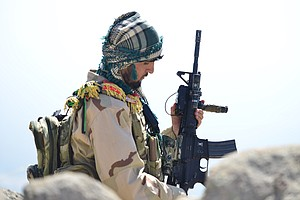 The Afghan Resistance Says Reports Of Its Defeat In Panjshir Are Taliban Prop...