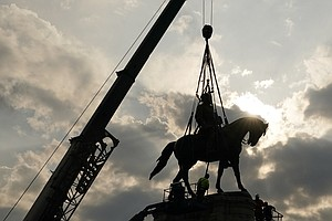 With Robert E. Lee's Statue Gone, Virginia Reveals Some New Plans For Its Ped...
