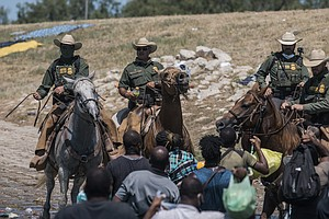 U.S. Begins Flying Haitian Migrants Home From Texas In Mass Expulsion