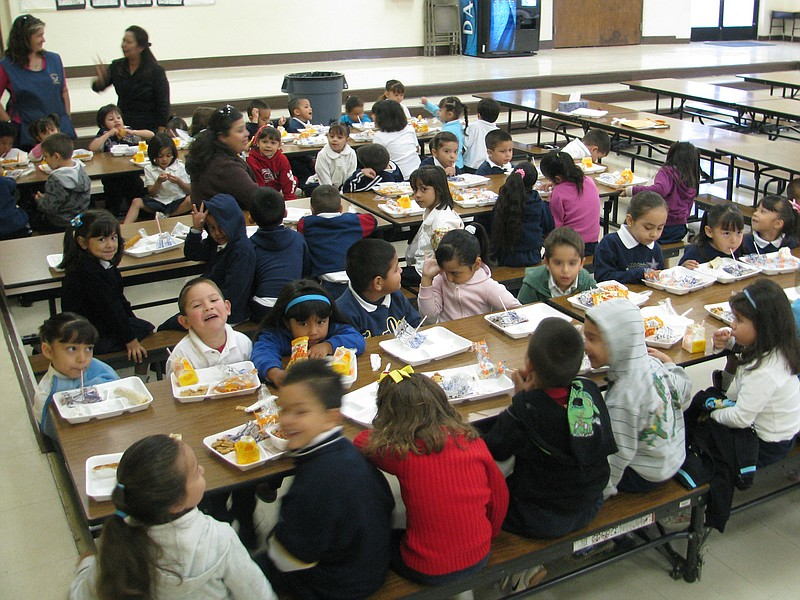 The number of students getting free meals has skyrocketed in the Calexico Uni...