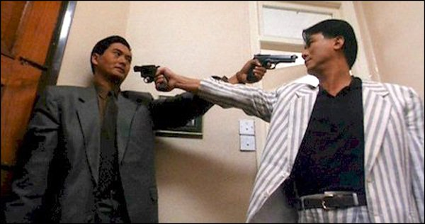 Chow Yun-Fat and Danny Lee in John Woo's The Killer