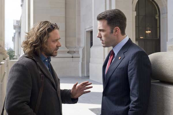 Russell Crowe and Ben Affleck in State of Play