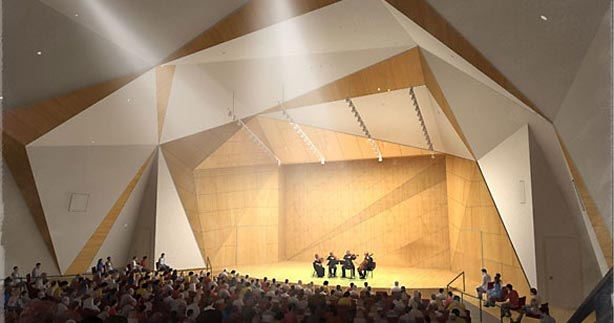 The Acoustical Design Of Ucsd S Conrad Prebys Concert Hall