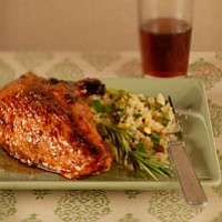 pomegranate glazed chicken from Everyday Food