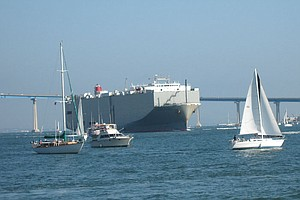 Ships Reduce Speeds For Cleaner Air