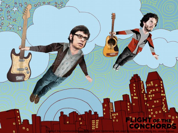 The Flight of the Conchords on HBO