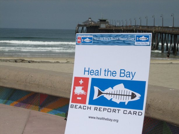 Heal The Bay says San Diego beachgoers enjoyed near-perfect water quality las...