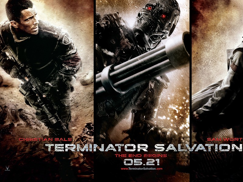 Terminator Salvation invades theaters for Memorial Day Weekend