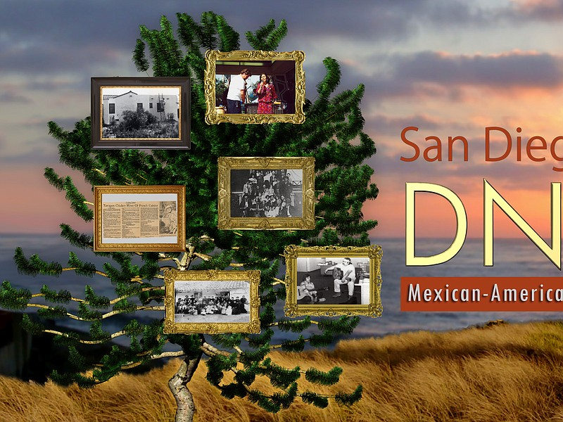 Title graphic from San Diego's DNA: Mexican-American Stories, which explores ...