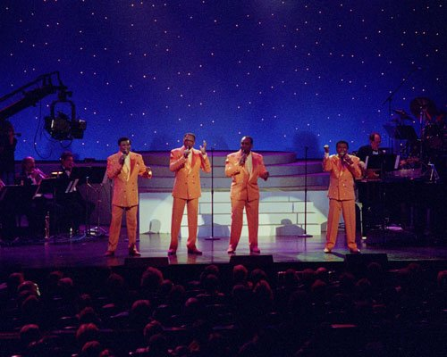 Little Anthony and the Imperials sing their hits <em>Tears on My Pillow, Goin...