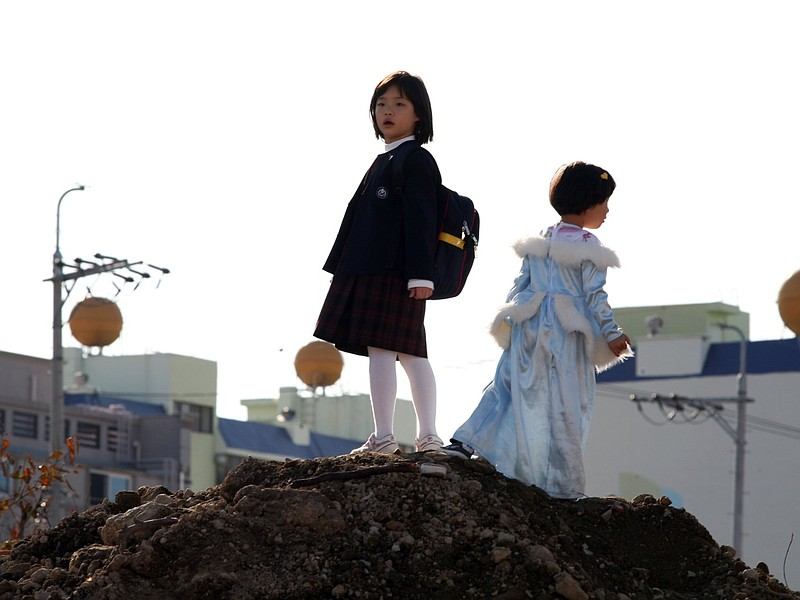 Two young sisters are left to their own devices in Treeless Mountain