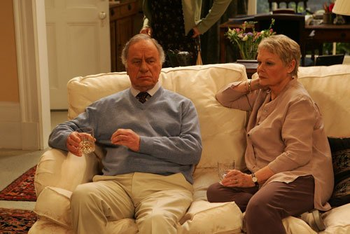 Jean Pargetter (Dame Judi Dench, right) is eager for grandchildren, much to h...