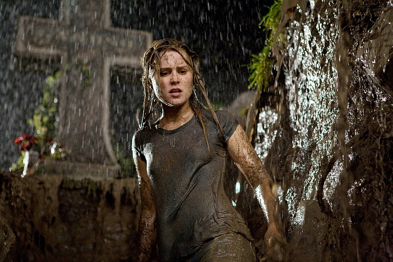 Alison Lohman on her way to hell in Drag Me to Hell