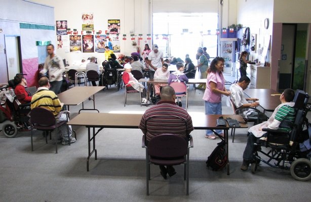 About 160 clients come to the skilled day care program, Casa Pacifica, five d...