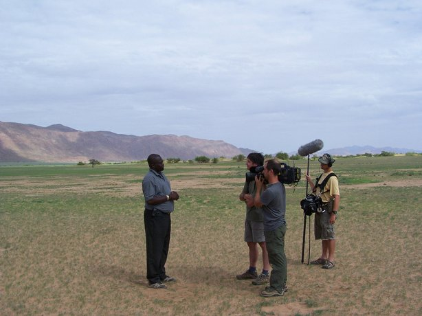 The documentary Milking the Rhino screens at the Cottonwood Environmental Fil...