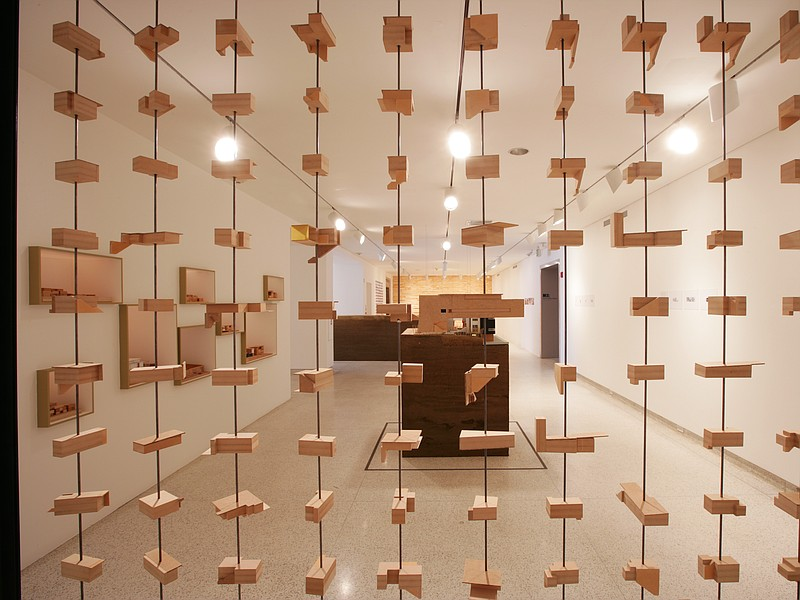Abacus:  Multiple Unit Types, 2009 by Lloyd Russell.