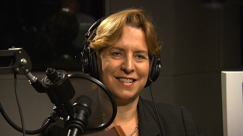 Vivian Schiller, president and CEO of National Public Radio, during the These...