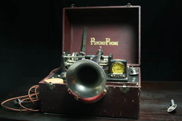 Did Thomas Edison make a machine to unlock the secrets of the dead? HISTORY DETECTIVES host Gwendolyn Wright sets out to learn who made the PsychoPhone (pictured) and why.