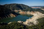 Lake Oroville, the main reservoir for the Calif. water project system, is 25 percent below average and at 64 percent of capacity. (Photo courtesy of Association of California Water Agencies)