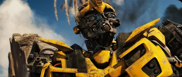"Bumblebee in ""Transformers: Revenge of the Fallen"""
