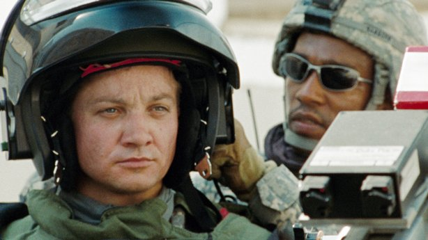 "Jeremy Renner in ""The Hurt Locker"""
