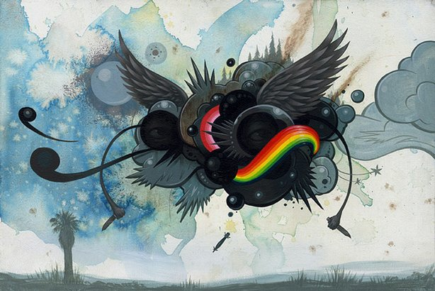 War Clouds by Jeff Soto