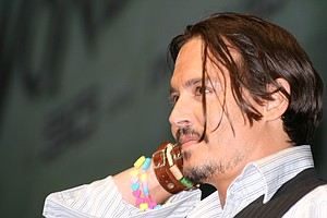 Johnny Depp Makes Surprise Appearance at Comic-Con