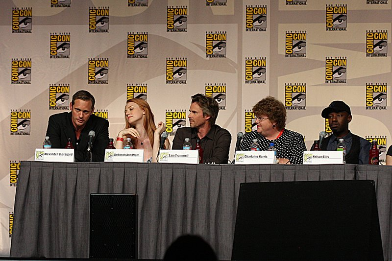 True Blood panel at Comic-Con, 2009