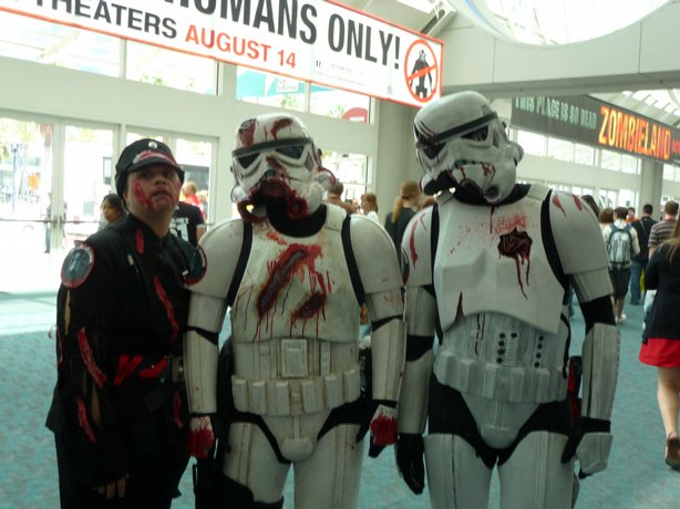 You can't have a Comic-Con without Stormtroppers.