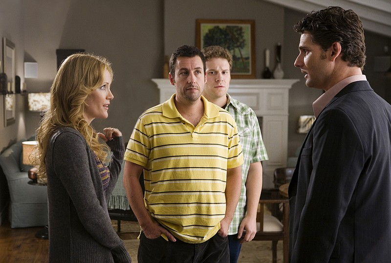 Leslie Mann, Adam Sandler, Seth Rogen and Eric Bana in Judd Apatow's