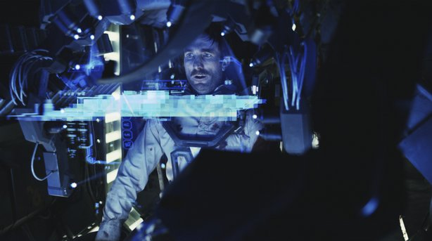 "Sharlto Copley stars in the new sci-fi thriller ""District 9"""