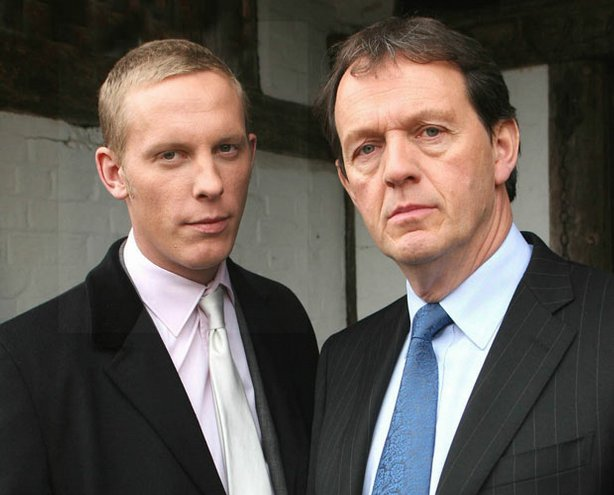 Kevin Whately (right) returns as Detective Inspector Robbie Lewis in the spin...