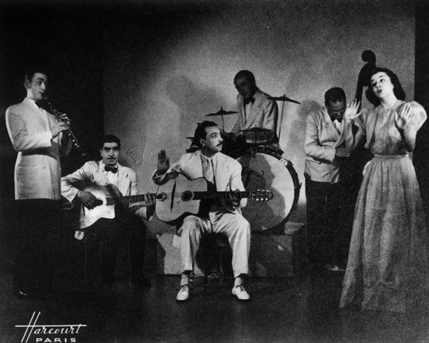 Django Reinhardt and his Nouveau Quintet