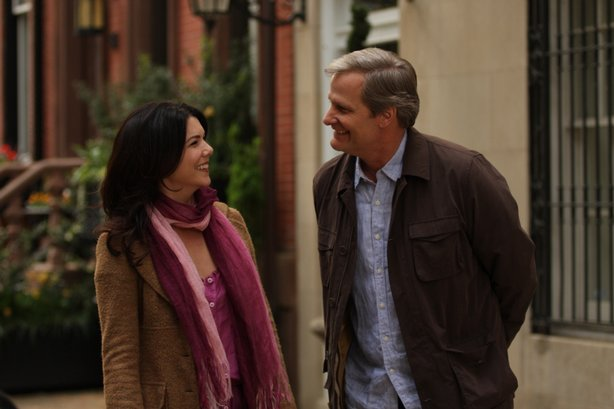 "Lauren Graham and Jeff Daniels in ""The Answer Man"""