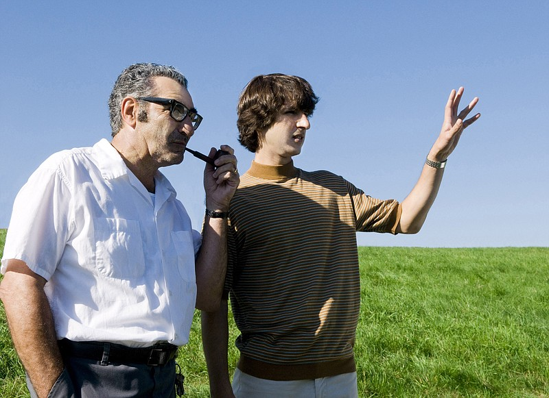 Eugene Levy and Demetri Martin prepare for an invasion in