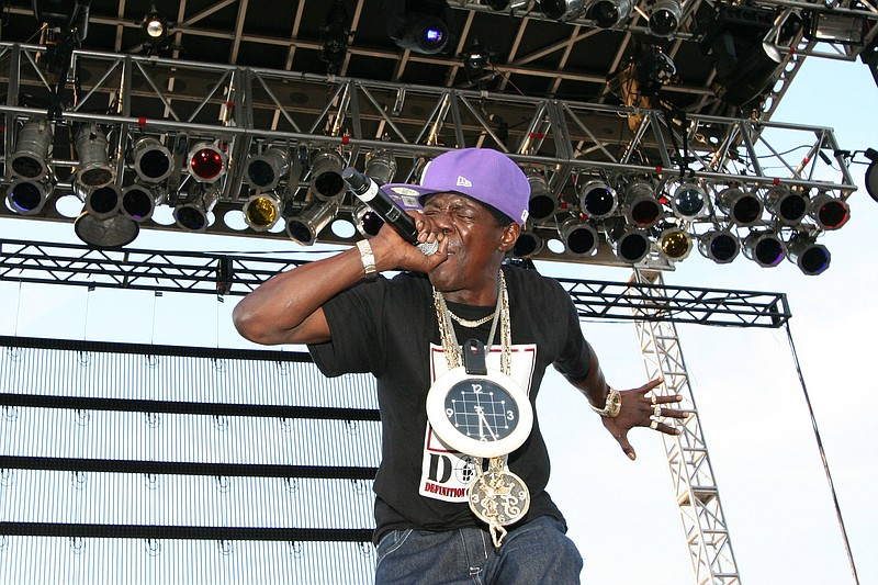Public Enemy's Flavor Flav still workin' it after all these years.  Street Sc...