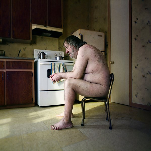 """First Place Winner in the Art of Photography Show. """"A Stranger 53 Years Old"""" by Benoit Paillé"""
