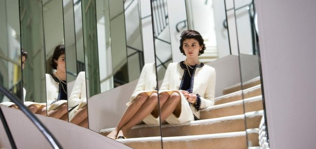 "Audrey Tautou playing Gabrielle Chanel in the upcoming film ""Coco before Chanel"" directed by Anne Fontaine."