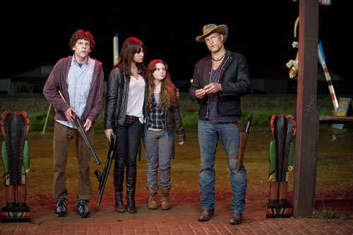"survival of the fittest in ""Zombieland."""