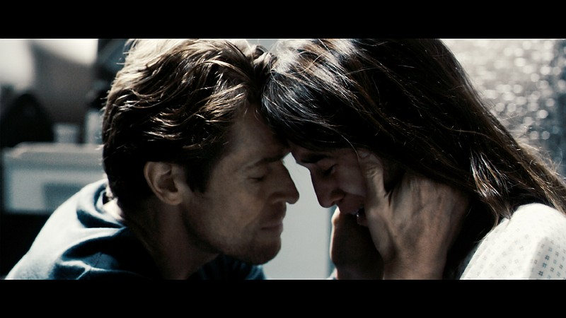 Willem Dafoe and Charlotte Gainsbourg in Lars Von Trier's
