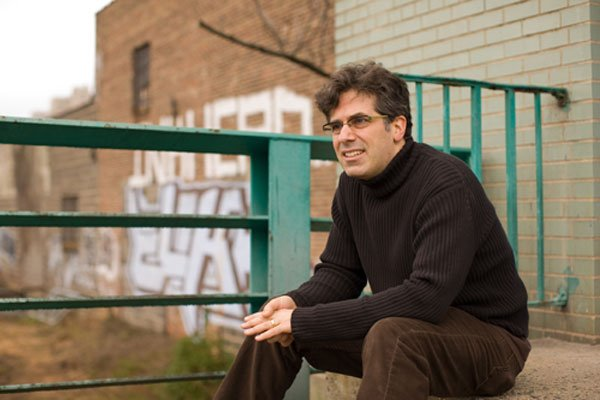 """Chronic City"" author Jonathan Lethem. Photo by Fred Benenson used under a Creative Commons Attribution License."