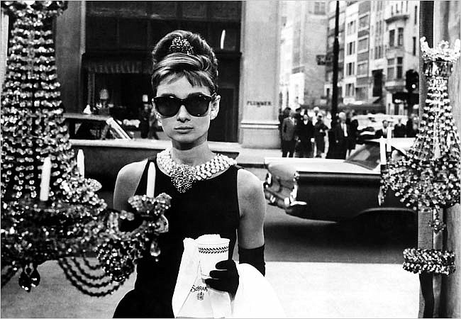 Audrey Hepburn as Holly Golightly in