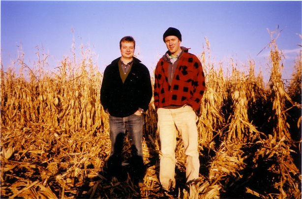 Two recent college graduates, Ian Cheney and Curt Ellis, plant a single acre ...