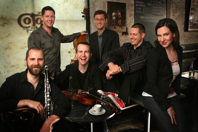 The Eighth Blackbird, a Grammy-award winning chamber music band, will perform...
