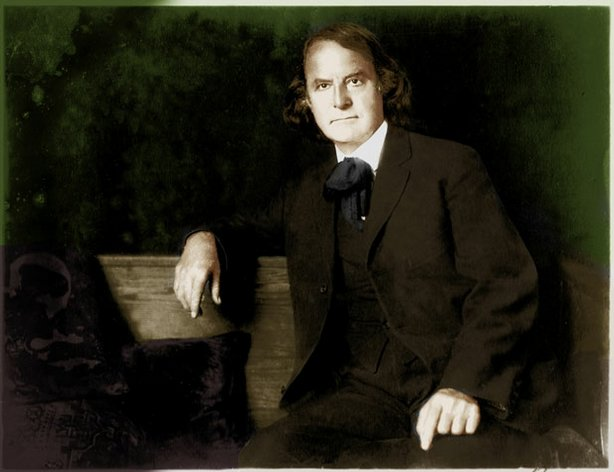 Elbert Hubbard (1856-1915) was the influential, flamboyant founder of the Roycroft artisan community in East Aurora, New York.