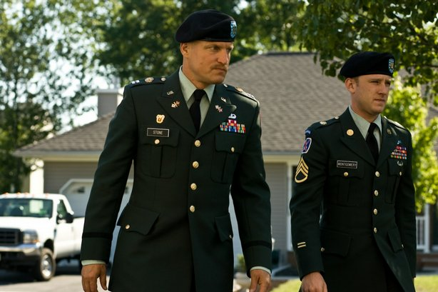 "Woody Harrelson and Ben Foster in ""The Messenger"""