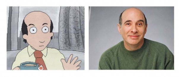 Jonathan Katz -- animated and in real life.