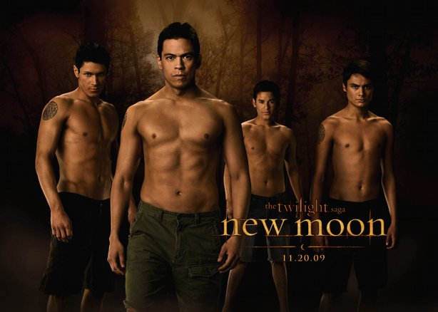 "The Wolf Pack in ""New Moon"""